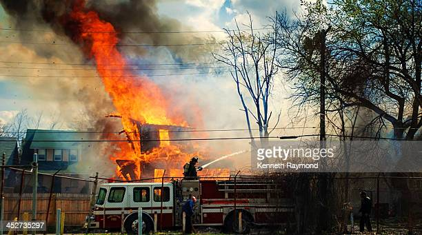 CONTENT] The Detroit Fire Department assisting the Highland Park Michigan Fire Department on what turned into a 6 alarm that devastated the city of...