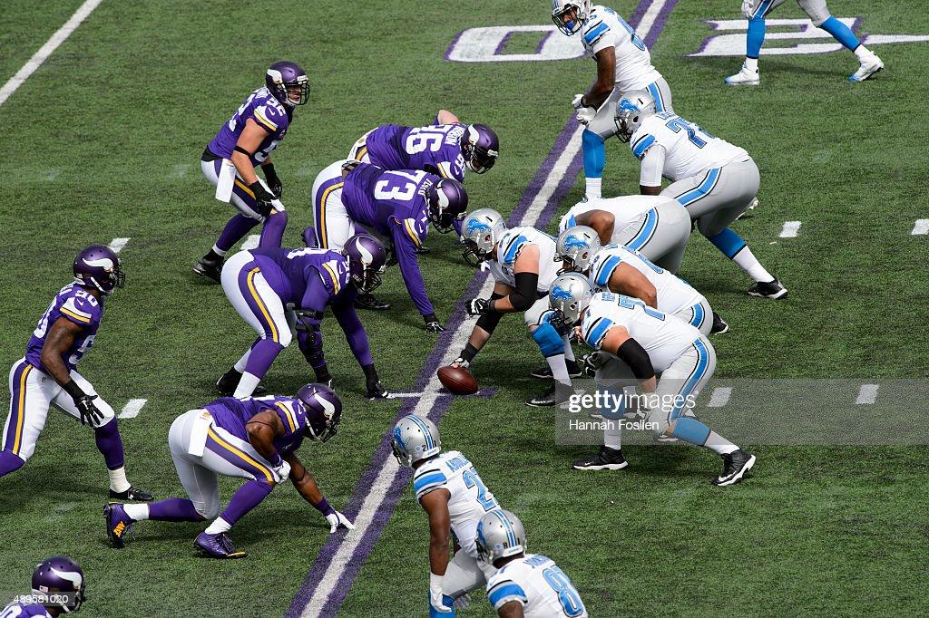 Detroit Lions v Minnesota Vikings : ニュース写真
