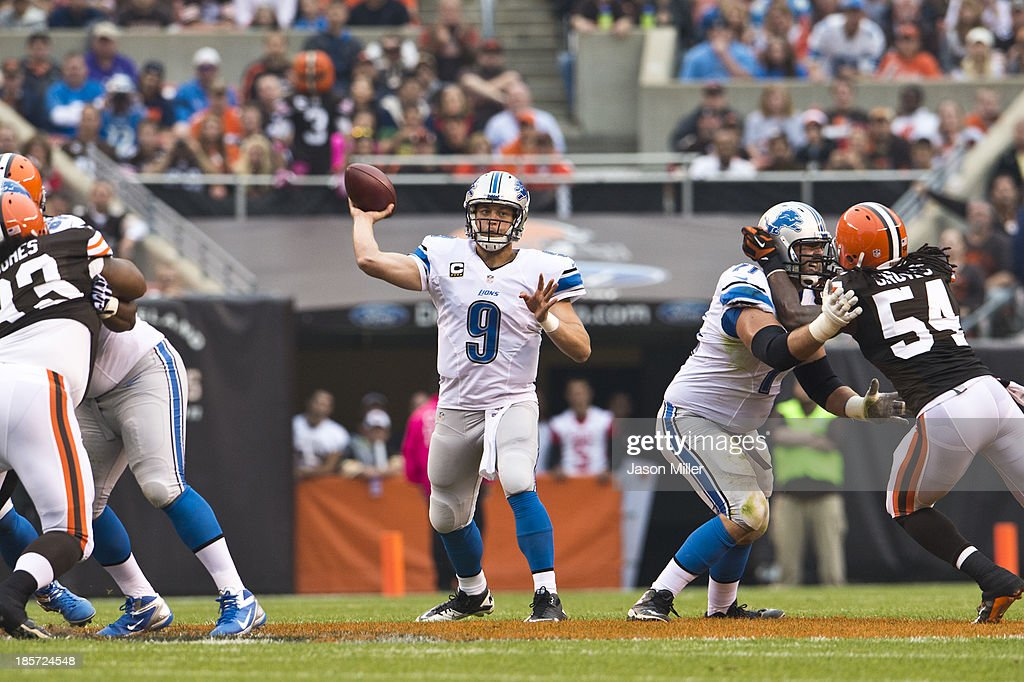 Detroit Lions v Cleveland Browns : News Photo
