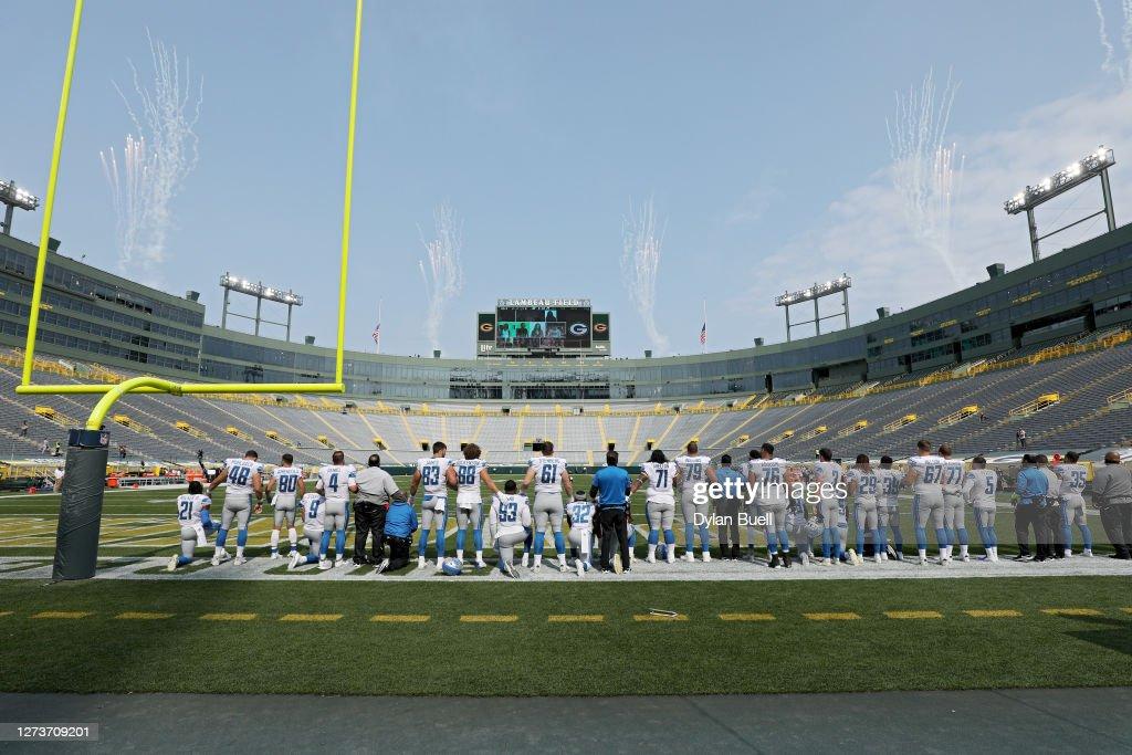 Detroit Lions v Green Bay Packers : ニュース写真