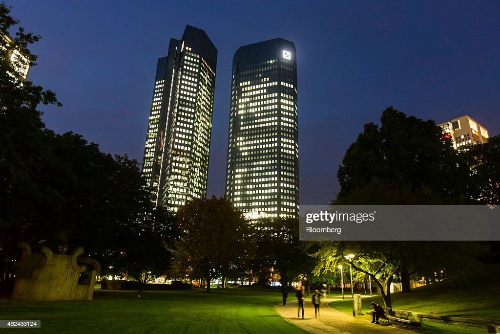 Deutsche Bank AG Headquarters And Branches Ahead Of Strategy Announcement : News Photo