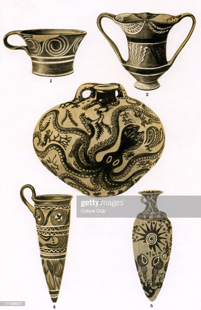 The development of Greek pottery : ニュース写真