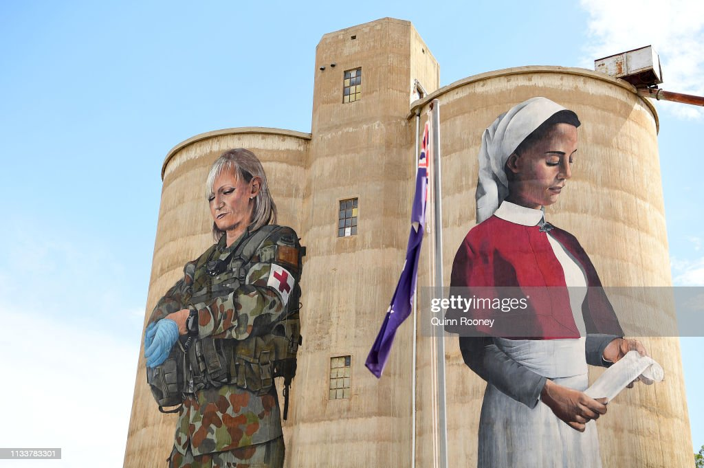 AUS: Silo Art Trail Sees Grain Storage Buildings Used As Artists' Canvasses Through Wimmera Mallee