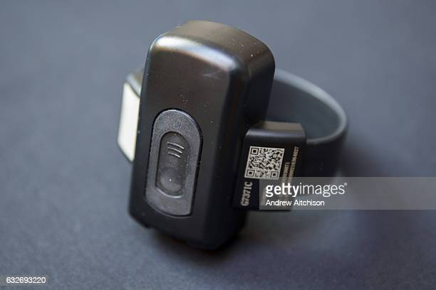 The device worn around the ankle of a prisoner who has been released early to be on a Home Detention Curfew The base unit is set up in the house and...