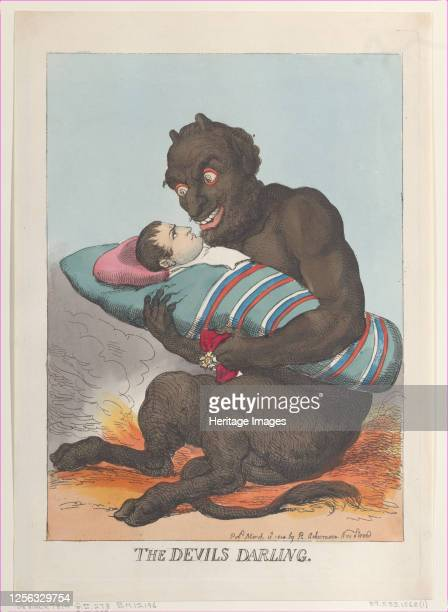 The Devil's Darling March 12 1814 Artist Thomas Rowlandson
