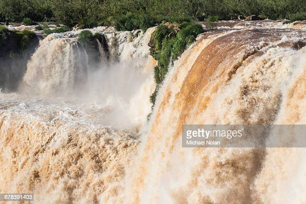 The Devils Throat (Garganta del Diablo), Iguazu Falls National Park, UNESCO World Heritage Site, Misiones, Argentina, South America