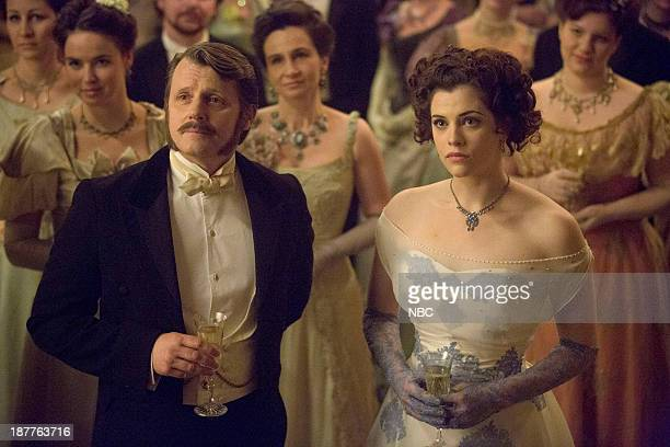 DRACULA The Devil's Waltz Episode 5 Pictured Anthony Calf as Dr William Murray Jessica De Gouw as Mina Murray