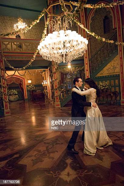 DRACULA 'The Devil's Waltz' Episode 5 Pictured Jonathan Rhys Meyers as Alexander Grayson Jessica De Gouw as Mina Murray