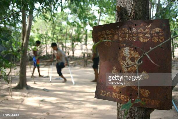 the devistation of landmines - land mine stock pictures, royalty-free photos & images