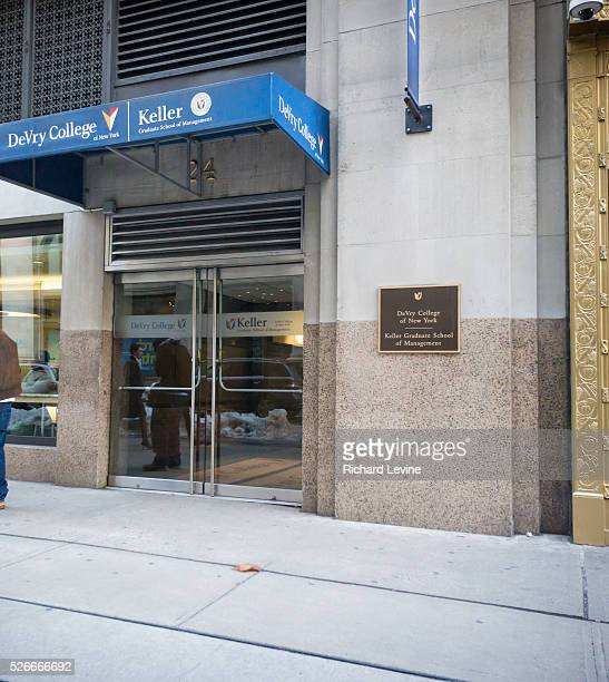 The DeVry College of New York, part of DeVry University on Thursday, January 28, 2016. The Federal Trade Commission has sued DeVry University...