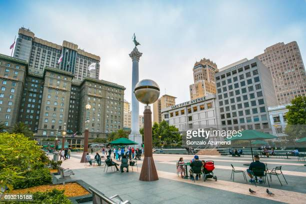 The Dewey Monument at San Francisco