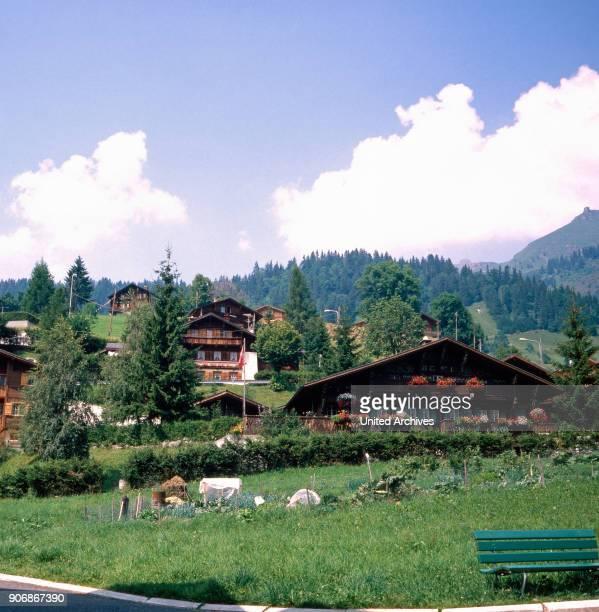 The Diablerets Switzerland 1980s