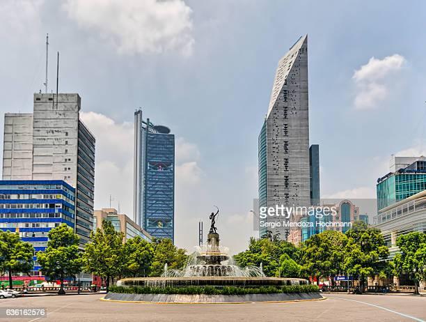 The Diana Cazadora (Diana the Huntress) monument - Mexico City, Mexico