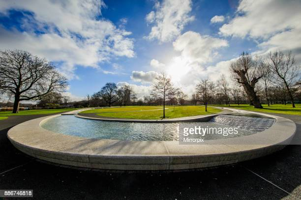 The Diana Princess of Wales Memorial Fountain in Hyde Park Central LondonThe Diana Princess of Wales Memorial Fountain in Hyde Park Central London...