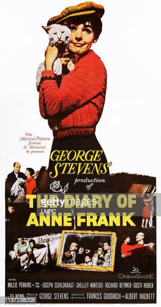 The Diary Of Anne Frank poster US poster Millie Perkins 1959