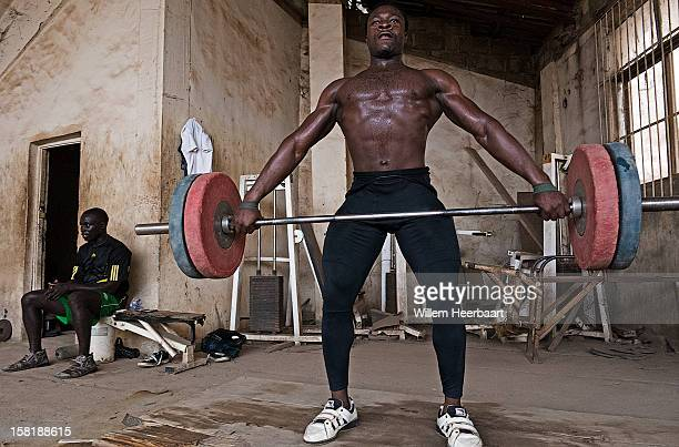 The difference between most western Gyms and most African Gyms is stunning, amazing how athletes under these circumstances are able to reach a...