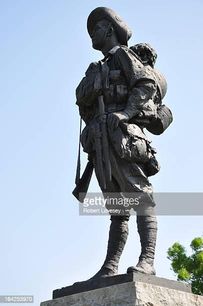 CONTENT] The Digger Memorial in the Australian Memorial Park Bullecourt
