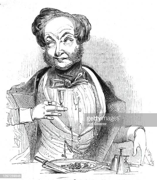 'The Diner-Out - we mean the knife-and-fork professor with a good and wide connexion - is a man without a care....Steeped in the gravies of his...