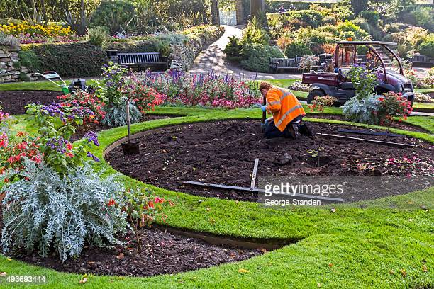 Landscape Gardener Stock Pictures Royalty Free Photos Images