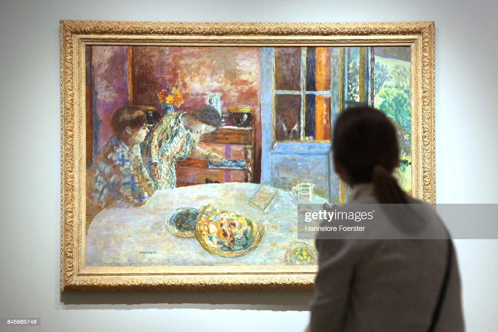 The Dining Room A Painting Of Pierre Bonnard At The Exhibition