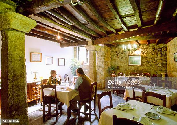 The Dining Room at Pazo Carrasqueira