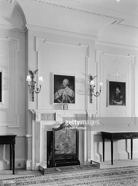 The dining room of Clarence House in London 1949 The house was built in 182527 by John Nash for the Duke of Clarence later King William IV The 18th...