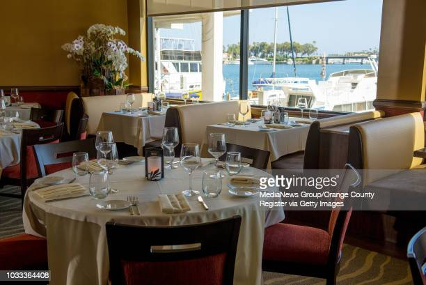 The dinning at The Winery in Newport Beach has an excellent view of the marina ///ADDITIONAL INFORMATION FoodReviewTheWinery0604 Ð 5/29/14 Ð...