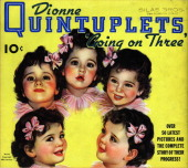 The dionne quintuplets appear on the cover of their own book of mid picture id123391335?s=170x170