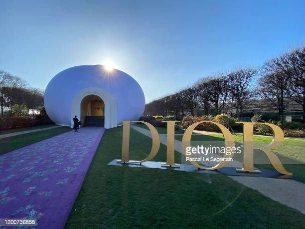 The Dior Haute Couture Spring/Summer 2020 show as part of Paris Fashion Week on January 20, 2020 in Paris, France.