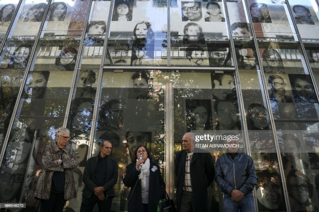 ARGENTINA-FBL-HUMAN-RIGHTS-EXHIBITION : News Photo