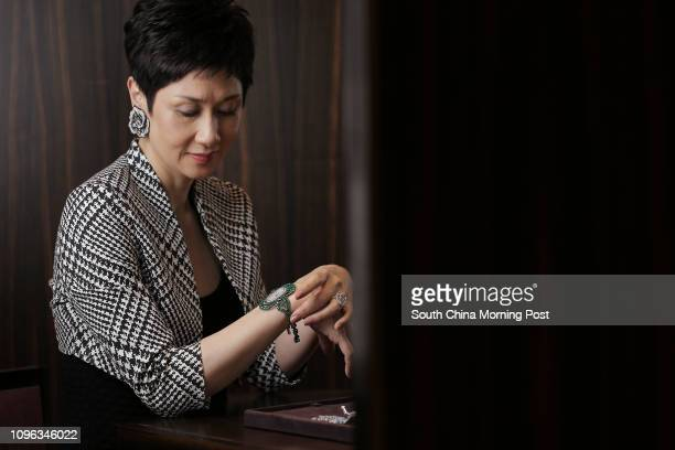 The director and creative head of Carnet Jewellery Michelle Ong Cheung poses in Central 28JUL16 SCMP / Paul Yeung