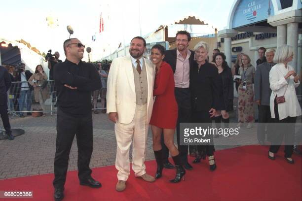 The director Dominic Sena Joel Silver Halle Berry Hugh Jackman and his wife