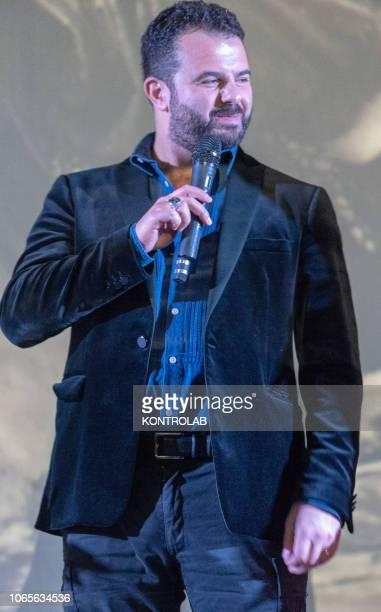 The director Edoardo De Angelis at the presentation of the drama 'Il vizio della speranza' directed by Edoardo De Angelis at the Duel Village in...
