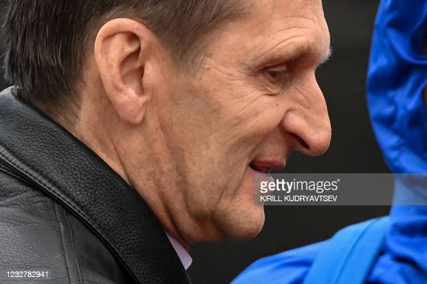 The director of Russia's Foreign Intelligence Service, Sergei Naryshkin, attends the Victory Day military parade at Red Square in Moscow on May 9,...