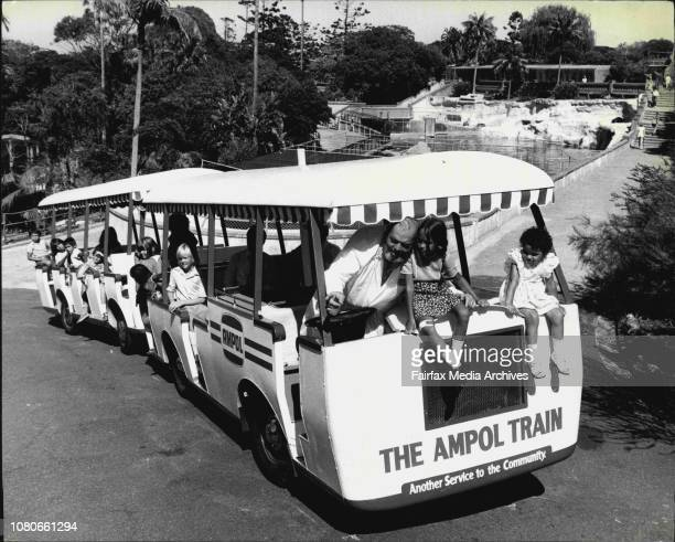 The Director of Taronga Zoo Dr Peter Crowcroft today announced a new public facility for visitors This was the 'Ampol Read Frank Train' launched...