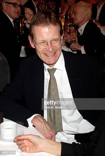 The director of Tate Britain Nicholas Serota attends the Turner Prize 2005 at Tate Britain on December 5 2005 in London England David Lammy hosts...