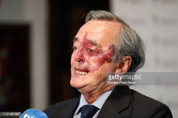 The director of the AXA-CNIO Experimental Oncology Group of the FSP CNIO assigned to the Carlos III Health Institute, Mariano Barbacid, is seen...