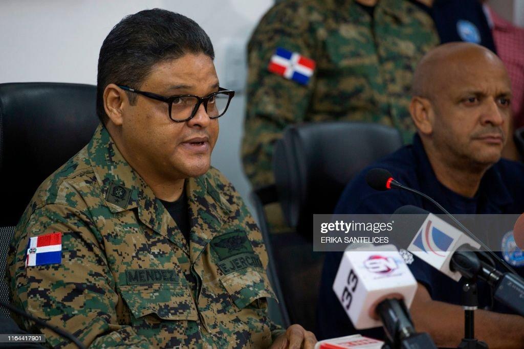 DOMINICAN REP-WEATHER-STORM-DORIAN : News Photo