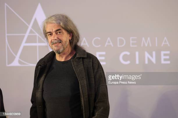 The director of 'The Good Patron', Fernando Leon de Aranoa, at the press conference where his film has been chosen to represent our country at the...