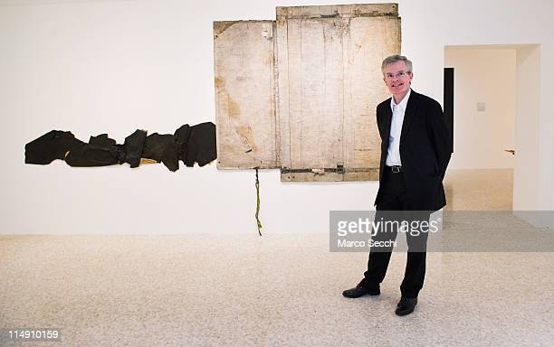 The Director of the Peggy Guggenheim Collection Venice Philip Rylands at the press preview of Ileana Sonnabend 'Un Ritratto Italiano' on May 28 2011...