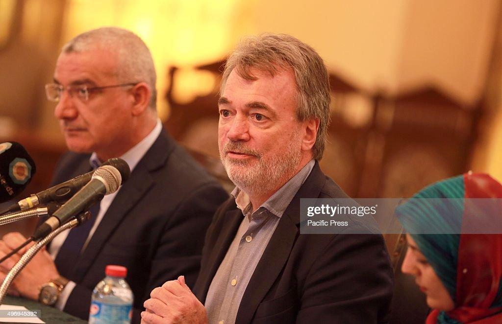 The Director of UNRWA Operations, in Gaza strip, Bo Schack (... : News Photo