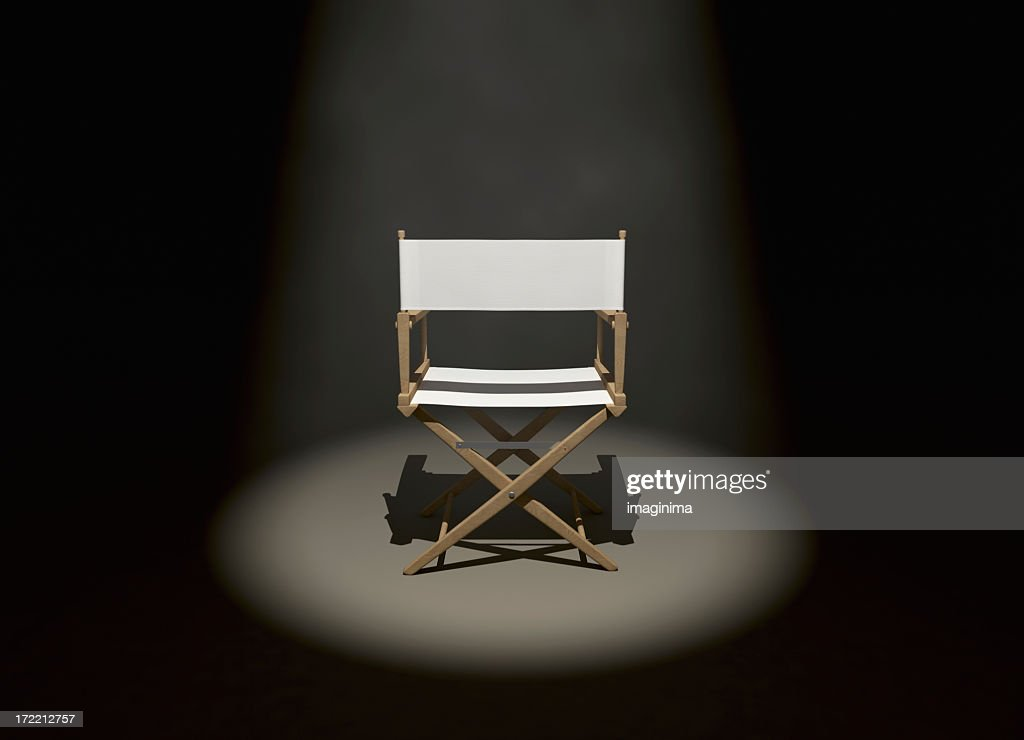 The Director (Back) : Stock Photo