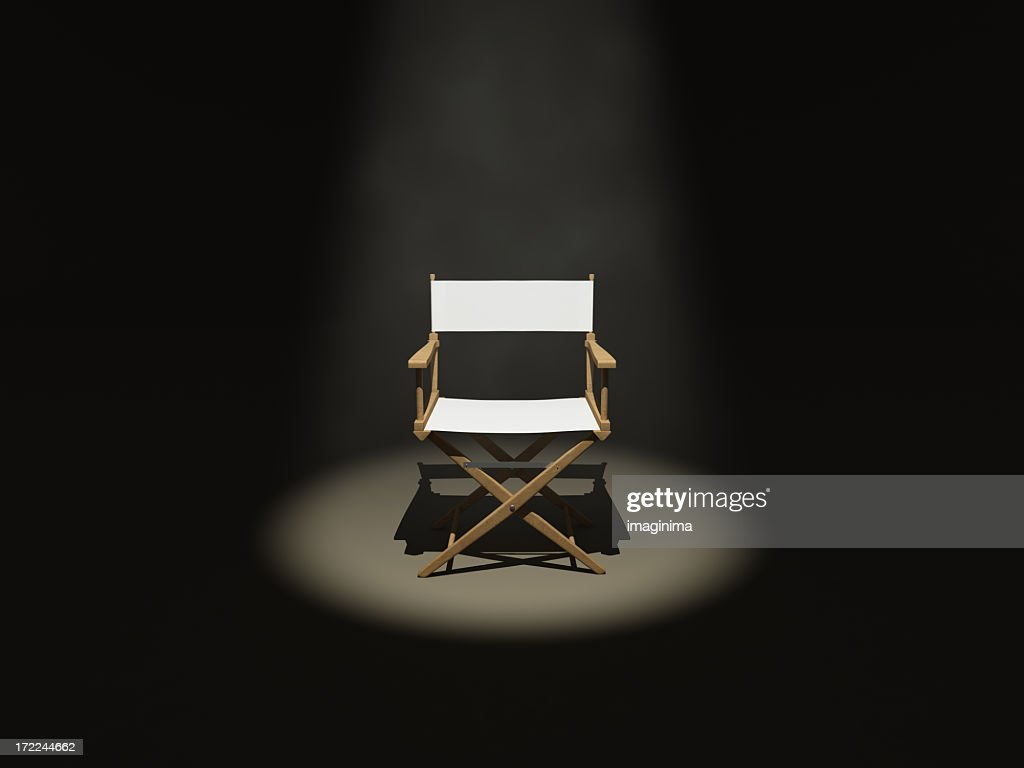 The Director (Front) : Stock Photo