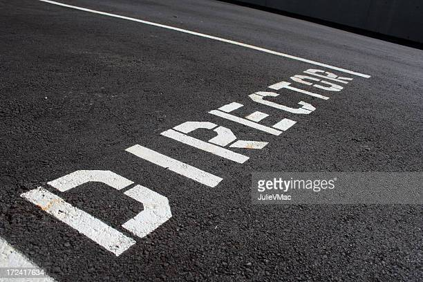 the director - road sign board stock pictures, royalty-free photos & images
