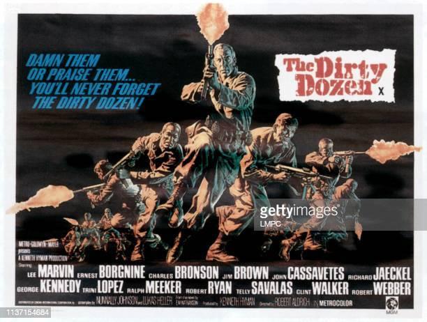 The Dirty Dozen, poster, 1967.