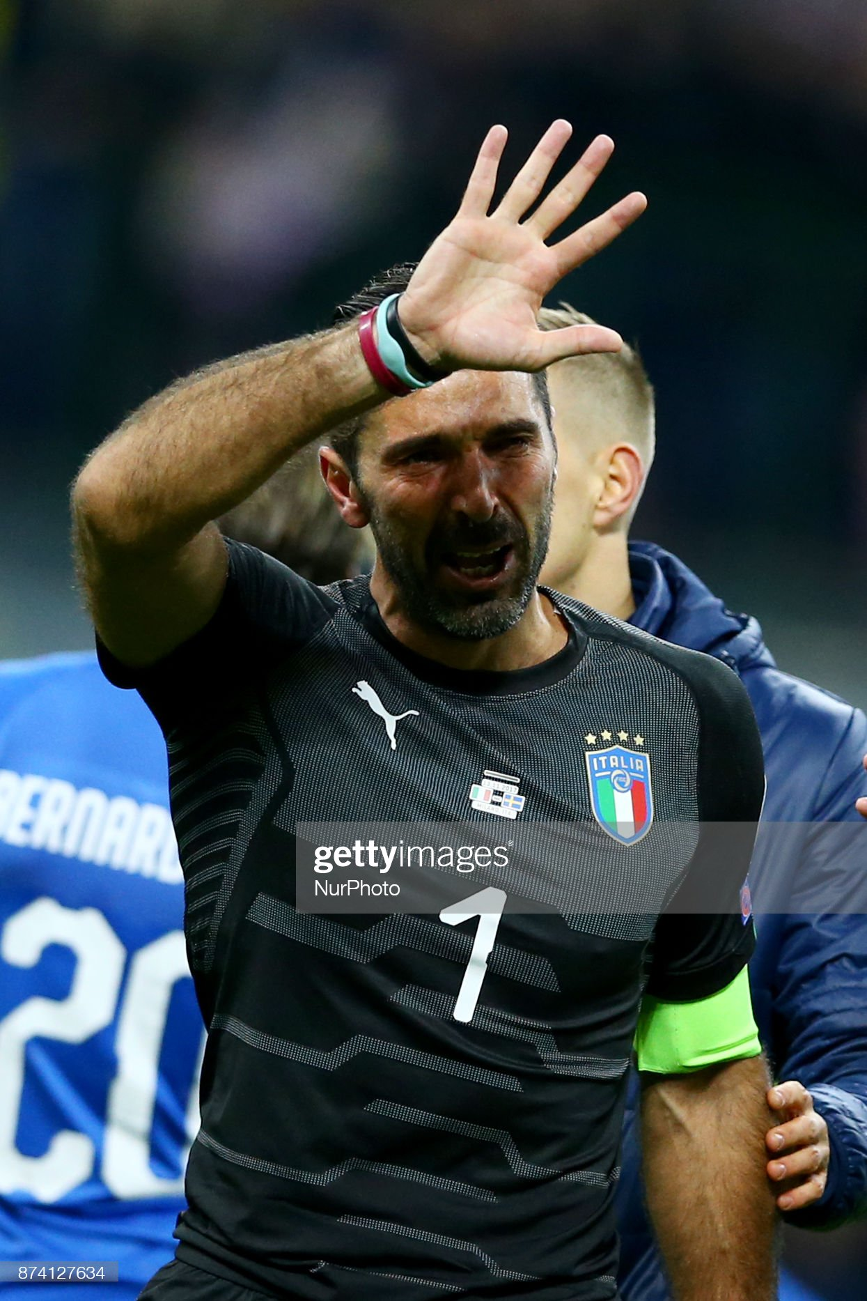 Italy v sweden - 2018 fifa world cup qualifying play-off: second leg: news photo, italian national team