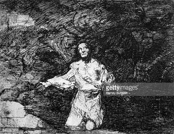 Sad forebodings of what is going to happen by Francisco Goya