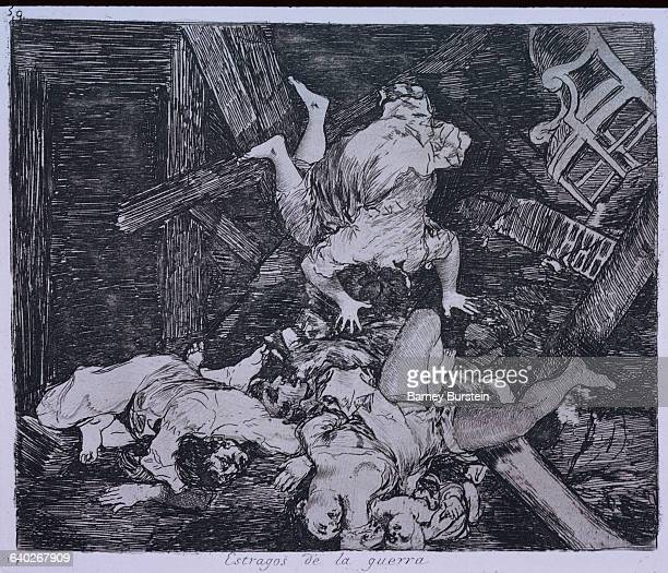 Ravages of War by Francisco Goya
