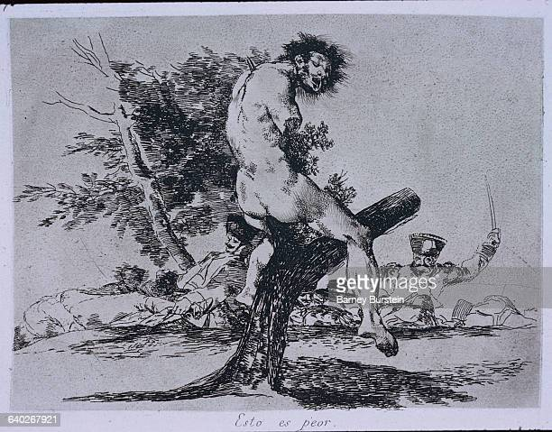 This is worse by Francisco Goya