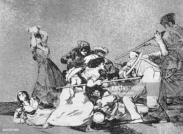 And they are like wild beasts by Francisco Goya